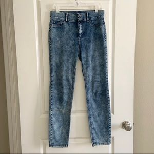 New York & Company SOHO acid wash high waist jeans